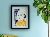 Portrait Series Prints pencil drawing photography illustration artwork art watercolor portrait poster prints print