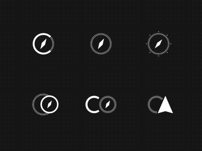 App icon concepts identity branding co brand logo compass app icon icon app mobile design