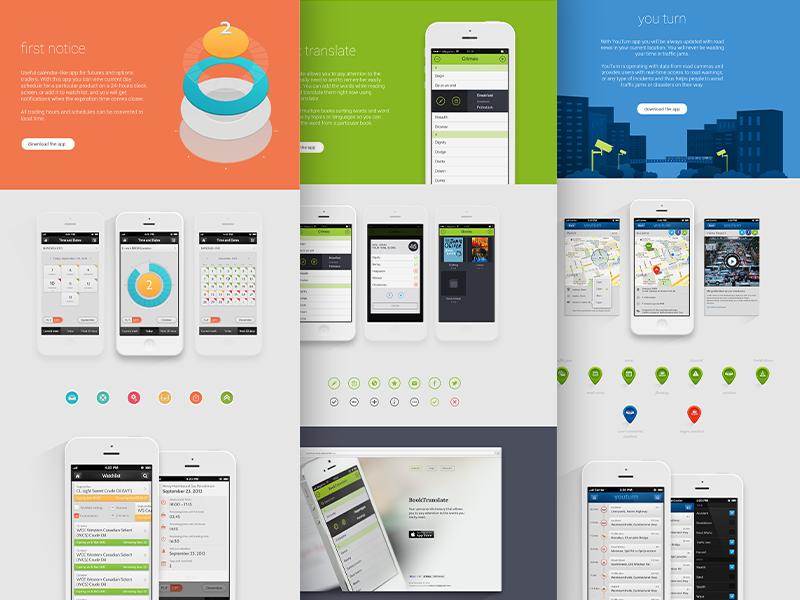 New website is live! agency illustration portfolio plainwhite design web personal website responsive flat mobile development
