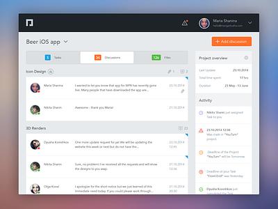 PlainWhite webapp web design development dashboard system webapp app free freebie