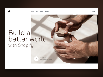 Build a better world landing page website design web page landing web design website ui design web