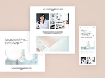 Portfolio update store shop photography ux minimal typography branding ui landing page webdesig design web site portfolio
