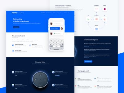 Developer Portal Landingpage