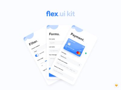 flex.ui kit (v.1.0) – Mobile UI Kit for your purpose