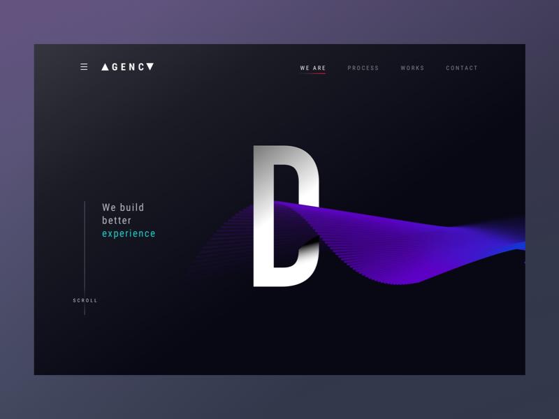 Design agency website