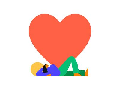 Affirm — Illustration system illotv racket ping pong heart summer girl apple character character design ui illustration system branding design motion motion graphics gif animation illustration illo