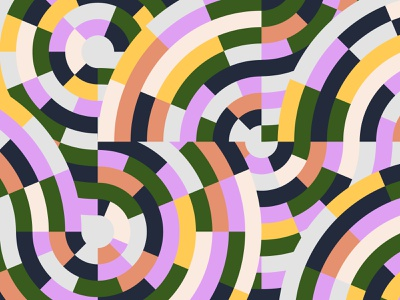 Geometric exploration explore exploration contrast color link intersection circle abstract visual geometric geometry graphic design design shapes illustration illo