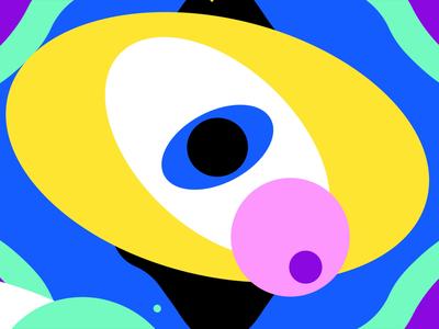 Space vortex videomapping