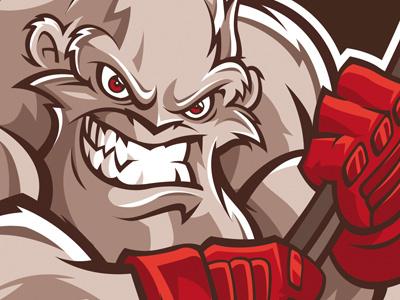 Blizzard logo - hockey team hockey logo cartoon mascot character