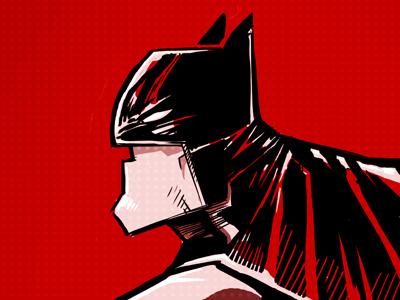 Batman batman illustration ink