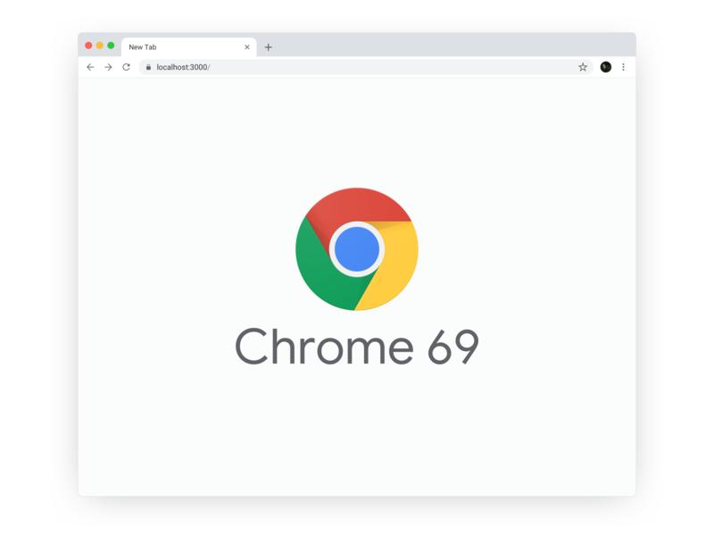Google Chrome 69 Sketch Template/Mockup mockup ui interface free download responsive light bright minimal clean 69 template sketch browser google chrome