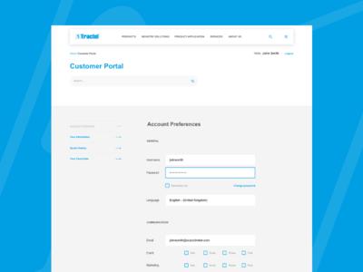 Tractel – Customer portal
