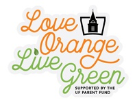 Love Orange Live Green Sitcker