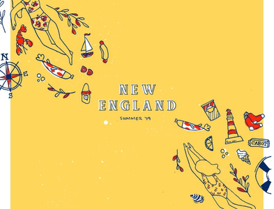 New England Brew Poster Design