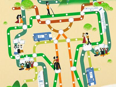 Dream Thailand editorial equality illustrations illustration
