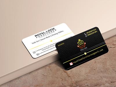 Visiting Card contact logo gold creative branding card design visitingcard graphic design