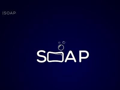 Soap vector minimalist web brand simple art unique minimal soap logo 3d animation ui illustration icon graphic design design creative clean branding