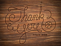 Thank You Tyler