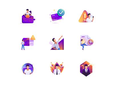 Medium icons for profee tolstovbrand vector illustration cartoon wallet finance profee icon