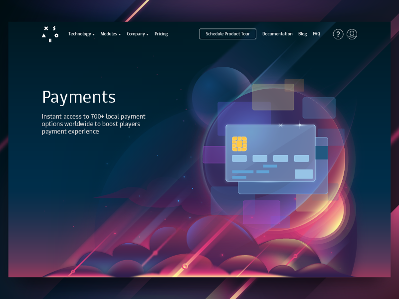 Illustration payments corp site