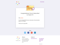 Subscription email template 1 - xsolla