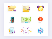 Subscription icon email template - xsolla
