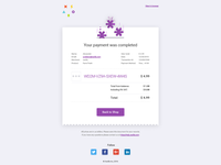 Сheck email template 2 - xsolla