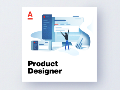 Product Designer designalfabank product designer vacancy tolstovbrand ux ui illustration design alfabank alfa-bank