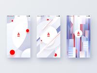 Splash screen concept (2 pack)