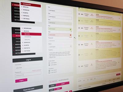 UI Kit for Stream Monitoring App