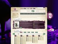 Partytude Website