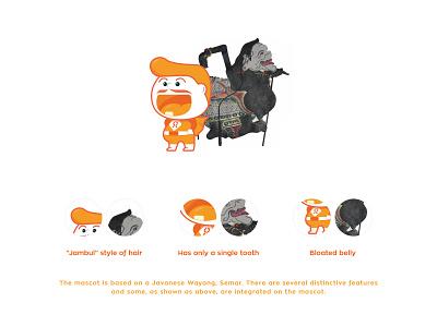 Semarak - Mascot, Visual and Brand Identity iconography graphic design logo interface design ui vector mascot illustration visual identity brand identity branding