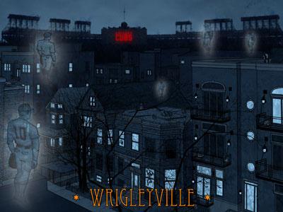 A Chicago Halloween - Wrigleyville halloween chicago wrigleyville cubs baseball ron sanot