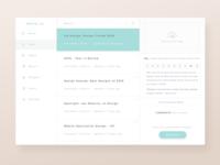 CMS Design - Admin View