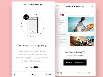 UI Design Gallery - Mobile Screens by Joe Roberto - Dribbble