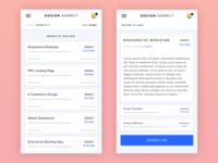 Design.Agency - Mobile Job Preview