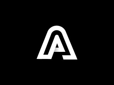 Logomark Exploration 'A' resolution new year a exploration branding logomark mark logo