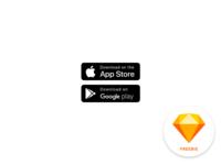 Sketch Freebie - Download Buttons
