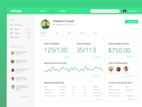 Canopy Client Dashboard