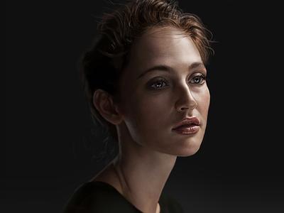 Female Portrait Practice portrait illustration portrait painting portrait realism practice female