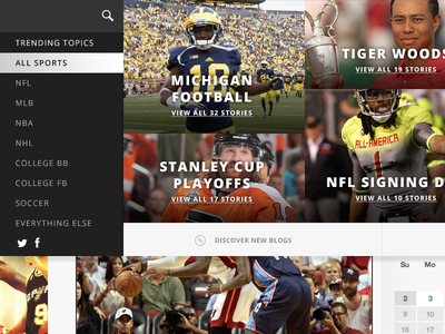 News dropdown athlete dropdown overlay search category content news sports blog