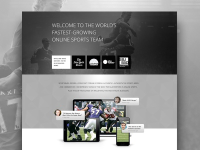About Page about sports athlete athletics web iphone ipad blog black  white