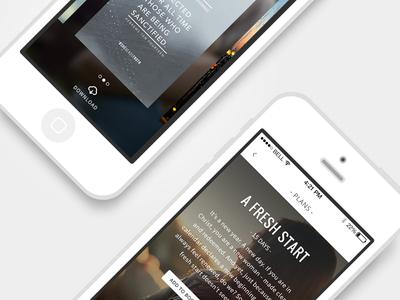 More Bible app screens