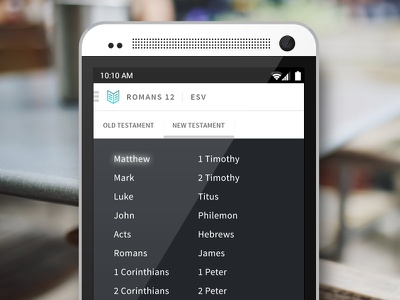 She Reads Truth Bible App for Android android bible app ui
