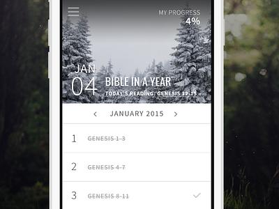 Bible in a Year shereadstruth bible iphone ui