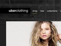 Uberclothing Homepage