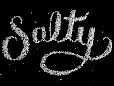 Salty Hand Lettering
