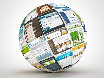 Webdesign Globe 3d render globe webdesign templates ball