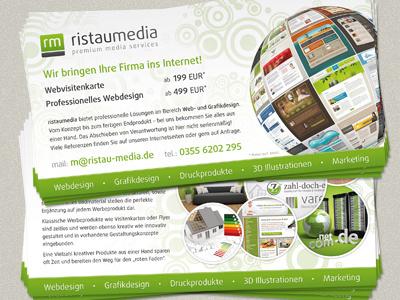 ristaumedia Flyer ristaumedia flyer print printdesign