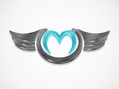 Personal Logo logo marvin ristau glossy shine